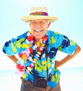 Smiling older man who tried out teeth implant dentistry near Heath, TX.
